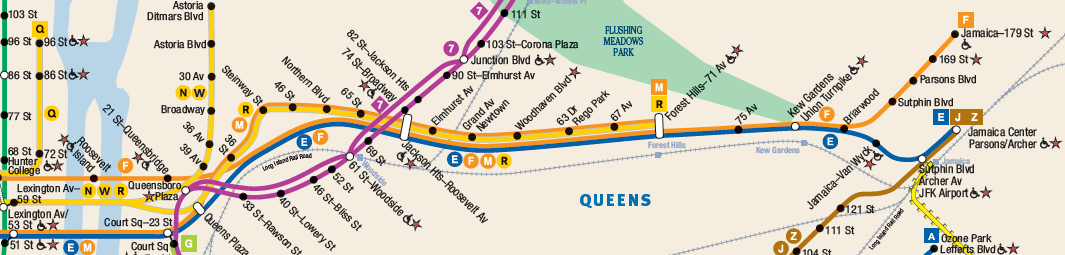 R Line Subway Map.Nytip Enhancing The Nyc Subway Part 3 Broadway And Queens