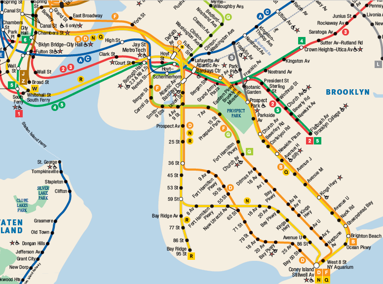 Nyc Subway Map Brooklyn NYTIP – enhancing the nyc subway, part 2: south brooklyn – nerdy.nel